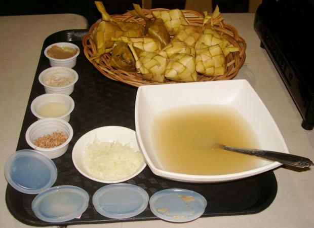 Tuslob Buwa meal