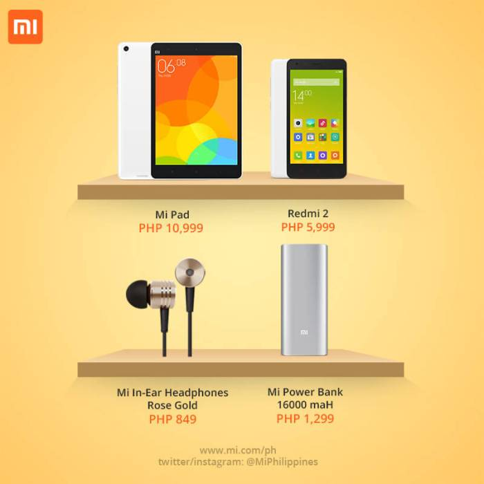 Xiaomi products now available in Cebu stores - MyCebu ph