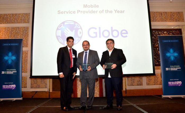 Globe Frost Sullivan Award