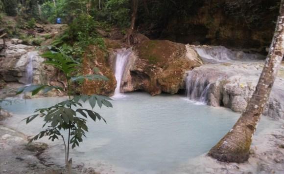 Aguinid Falls Level Zero Samboan Cebu