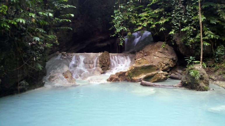 Aguinid Falls Level 1 Samboan Cebu