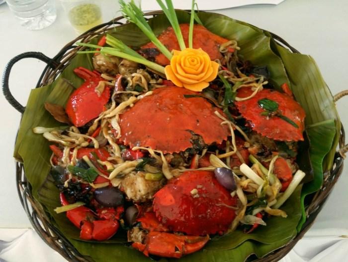 Alimangong humba Eats Meets West