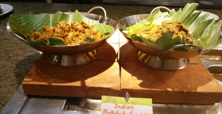 Marco Polo Khana Indian cuisine pickled vegetables