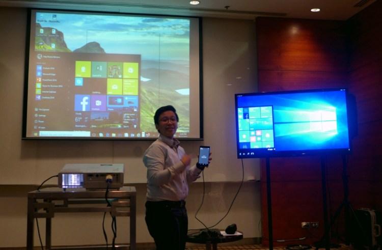 Windows 10 Cebu launch demo