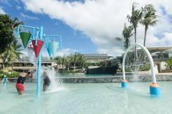 WATER FUN. The kiddie pool in Be Grand Resort Bohol offers fun water play options.