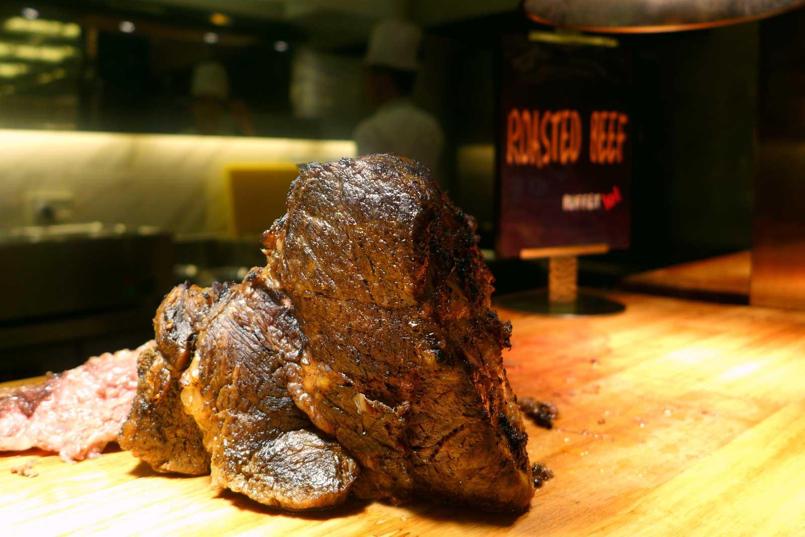 Buffet 101 Cebu roast beef