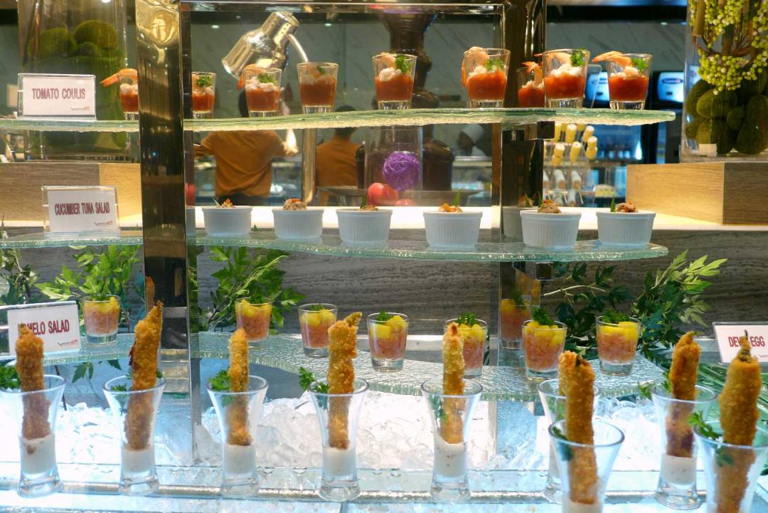 Buffet 101 Cebu salads