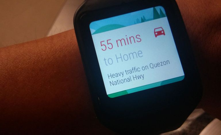 Android Wear Google Now