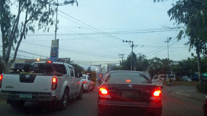 Mandaue City traffic