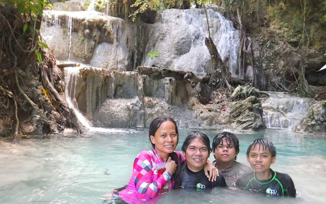 Beyond level 5, Aguinid Falls is unspoiled, green