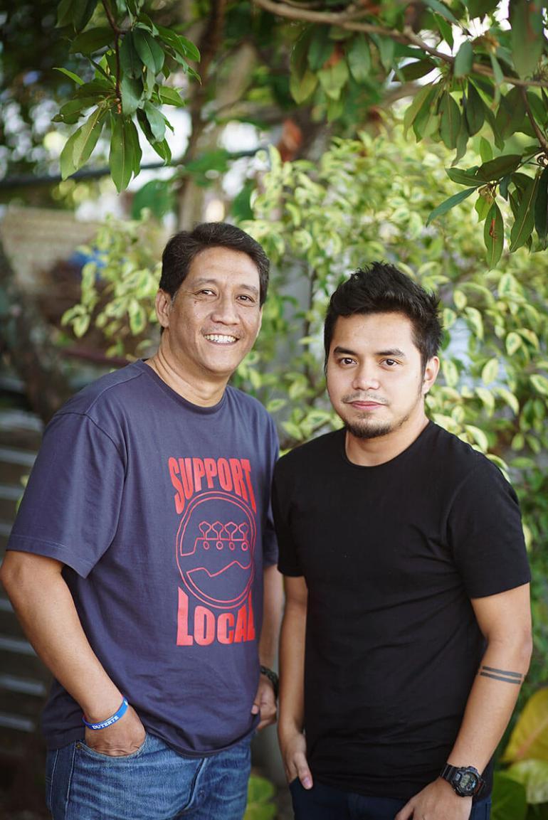 John Cadeliña, Irving Guazon Damgo