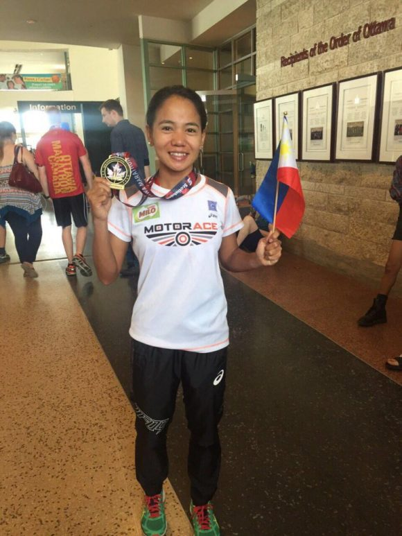 NOT A QUITTER. Mary Joy Tabal told herself she had never quit in a race and refused to quit on her first Olympic stint.