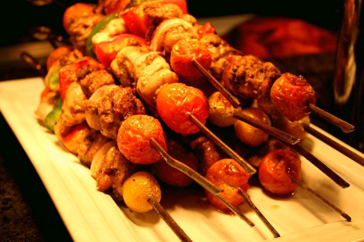 Marco Polo Plaza Cebu Khana chicken kebabs