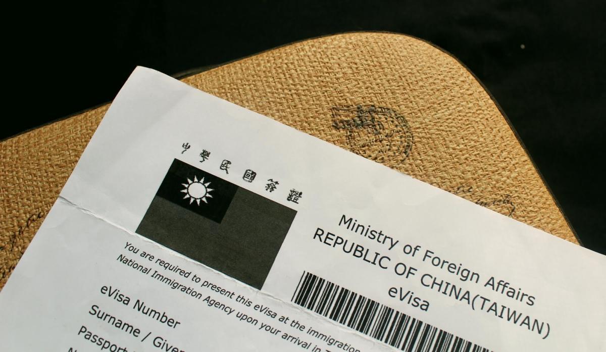 Taiwan E-visa