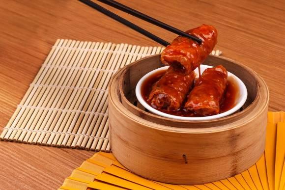 Tim Ho Wan Cebu Beancurd Skin with Pork & Shrimp