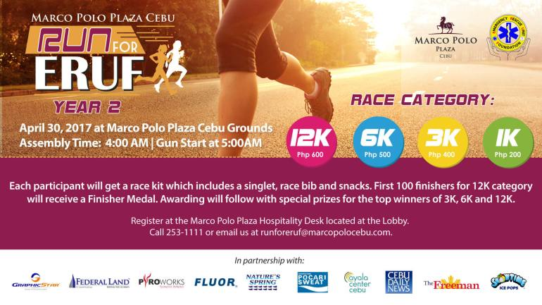Marco Polo Plaza Cebu Run For ERUF