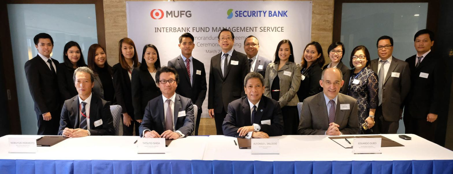 Security Bank Corporation Mitsubishi UFJ Financial Group