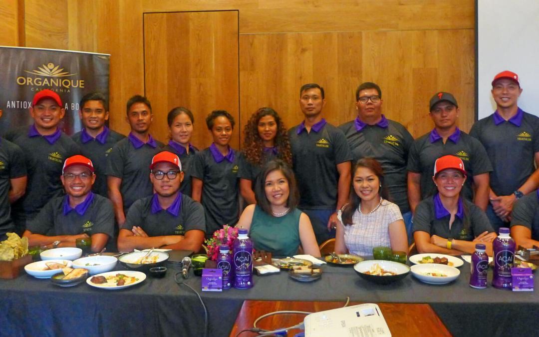 Organique fields triathlon team to help spread word on acai berry drink