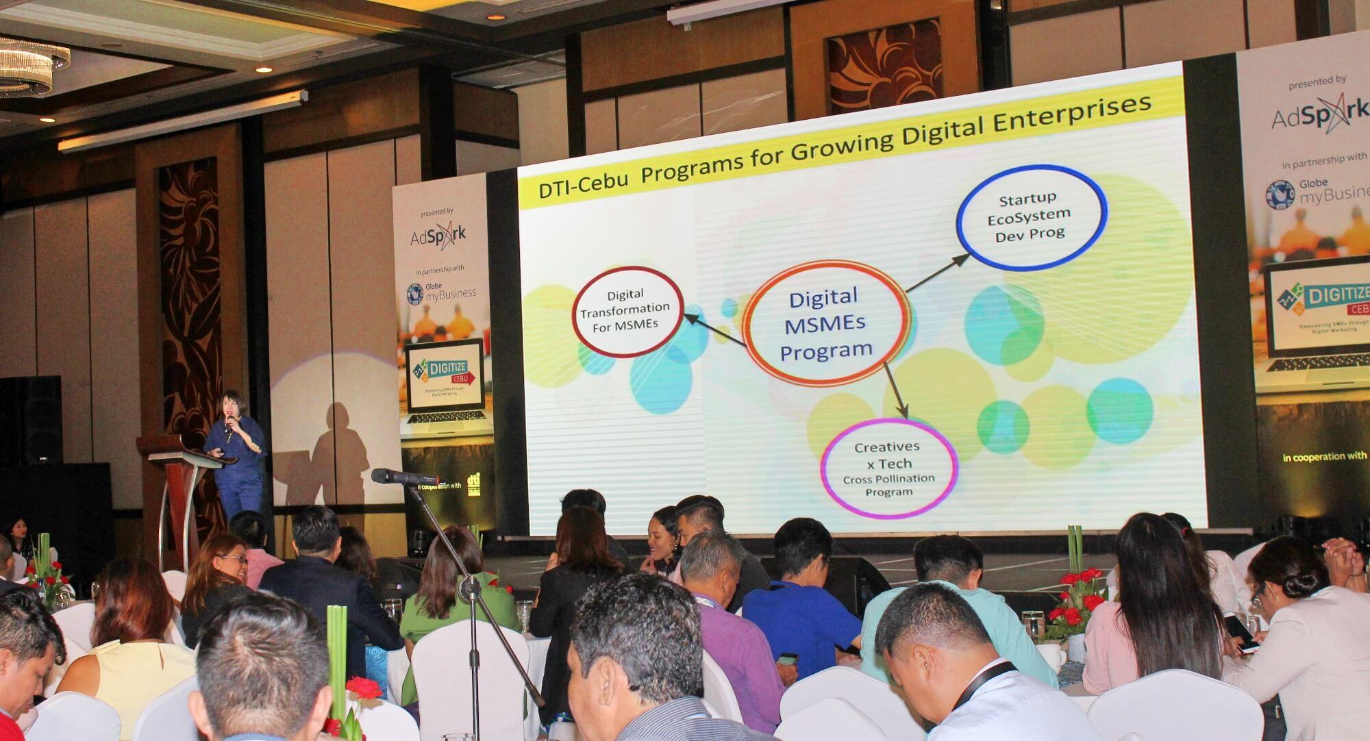 Digitize Cebu Maria Elena C. Arbon