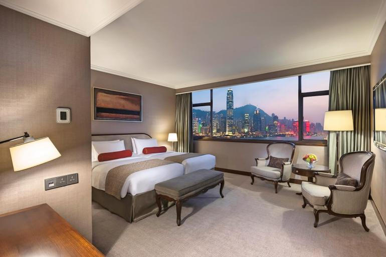 Marco Polo Hongkong Hotel_Harbour View Room