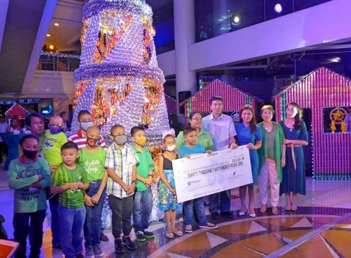 Cebu Parklane International Hotel Christmas lighting