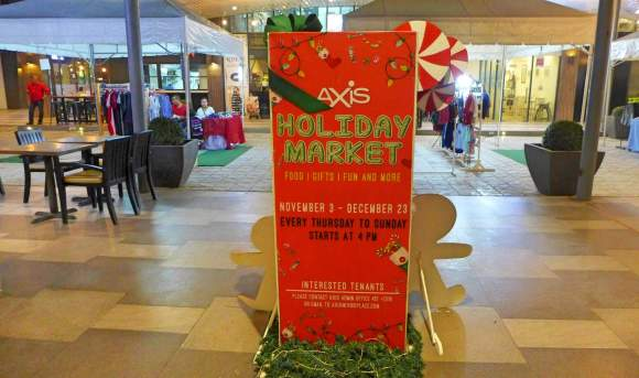 Axis Holiday Market