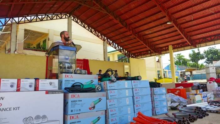 Vivant Foundation donation Bantayan Island