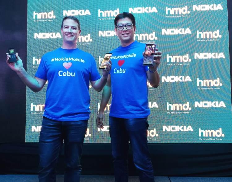 New Nokia phones launch in Cebu