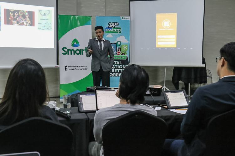 Smart SWEEP 2018 pitching