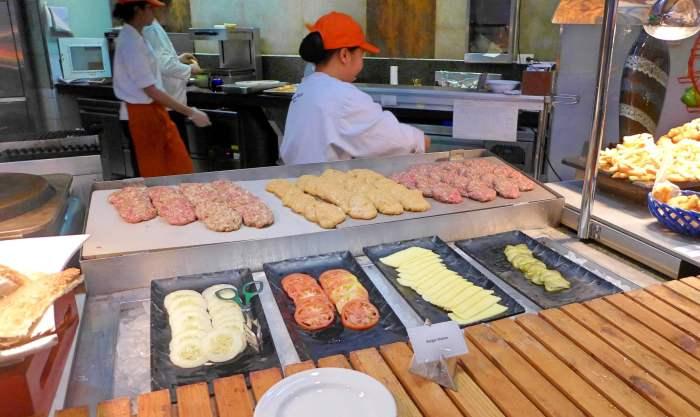 Marco Polo Plaza Cebu burger station