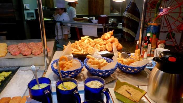 Marco Polo Plaza buffet
