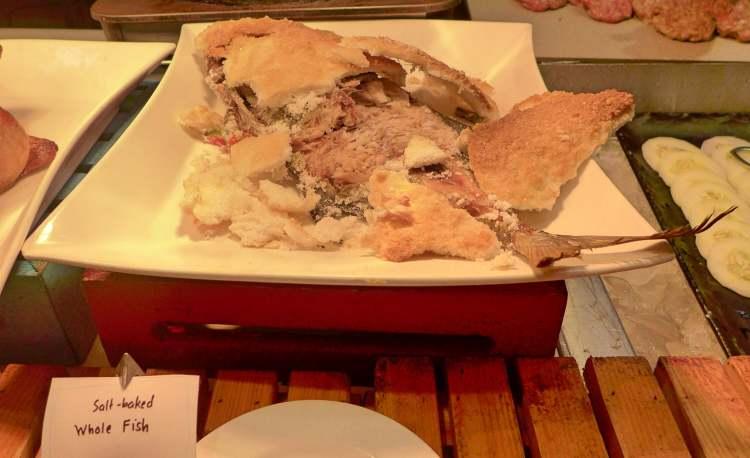 Marco Polo Plaza Cebu baked fish