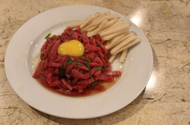 Kimstaurant Cebu raw beef