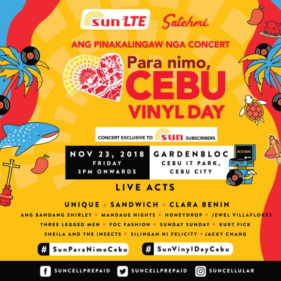 Sun 'Para Nimo, Cebu', Ang Pinakalingaw Nga Concert