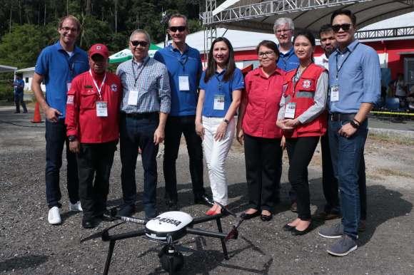 Nokia drone disaster response