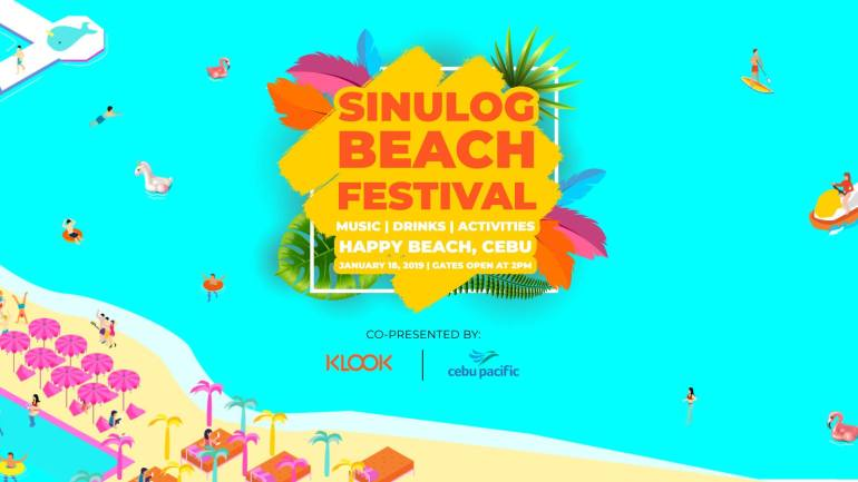 Klook Sinulog Beach Festival