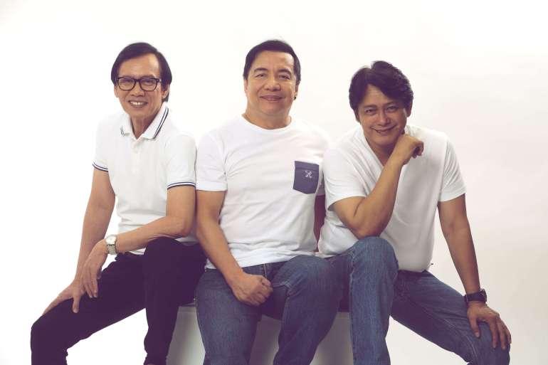 Rey Valera, Nonoy Zuñiga, and Marco Sison Cebu