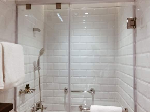 Aerotel Cebu shower