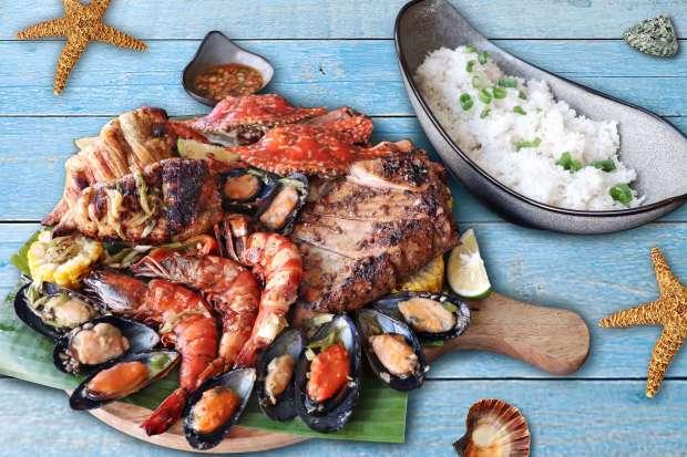 Seafood Platter Quest Hotel & Conference Center Cebu
