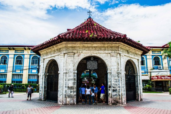 MAJOR TOURIST SPOT. Magellan's Cross is a top tourist attraction in Cebu. It's part of the tour circuit that includes the Basilica Minore del Sto. Niño, Cebu Metropolitan Cathedral, Fort San Pedro, and Plaza Independencia. (Photo provided by the Basilica Minore del Sto. Niño de Cebu)