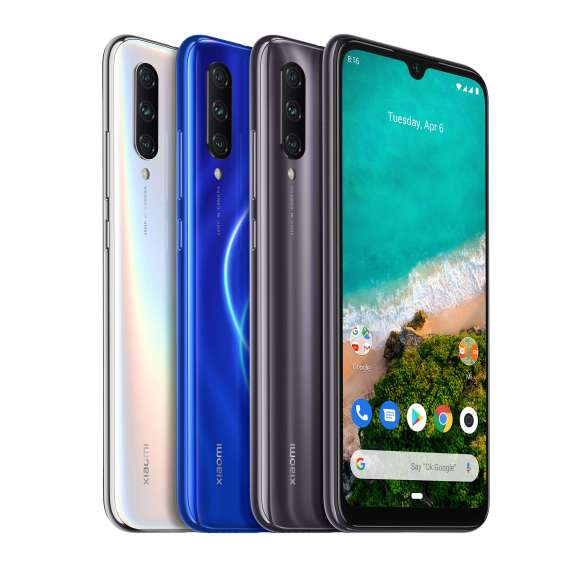 "MI A3 CAMERA. Mi A3 sports a triple camera setup on the back with 48MP main lens and a large 1/2"" sensor for ultra-high-resolution day photos. Its 8MP ultra-wide angle lens intelligently detects when users are shooting large images and recommends when to switch to ultra-wide angle mode for a more optimal shot."