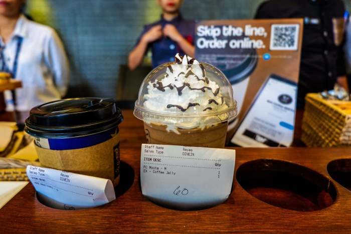 SKIP THE COFFEE ORDER LINE. Bo's Coffee allows you to order in advance via Facebook Messenger and pick it up at the store.