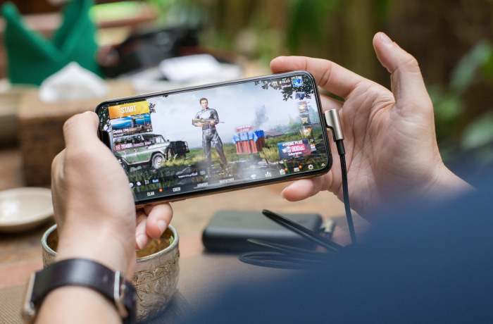 Mobile gaming Smart, PLDT network