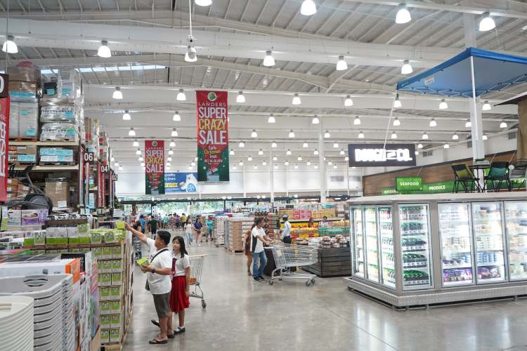 Landers Superstore Cebu Crazy Sale