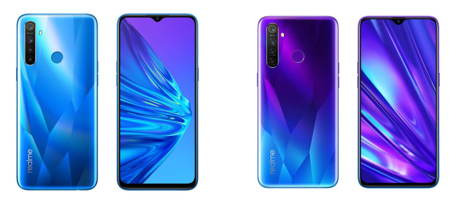 realme 5 and real me 5 pro