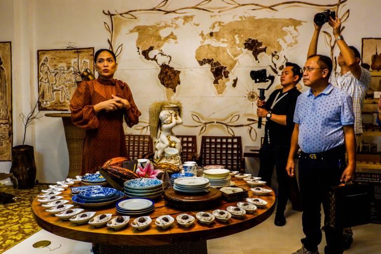 Raquel Choa talks about the tale of Maria Cacao.