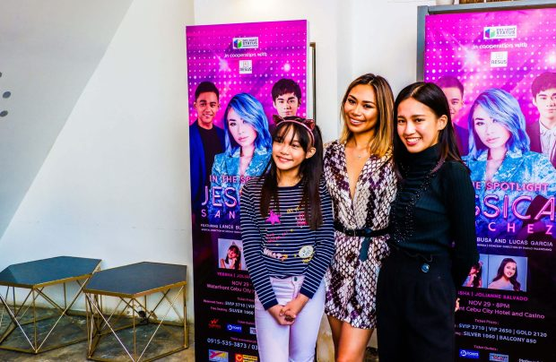 Yessha, Jessica Sanchez, and Jolianne Salvado.