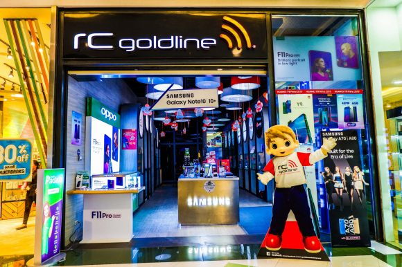 RC Goldline in SM Seaside City Cebu.