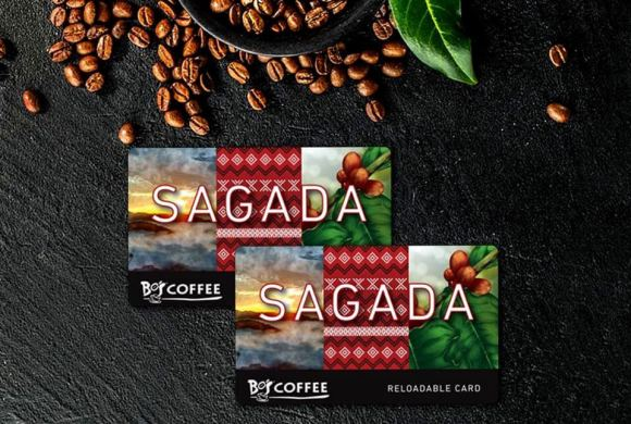 Bo's Coffee reloadable cards.