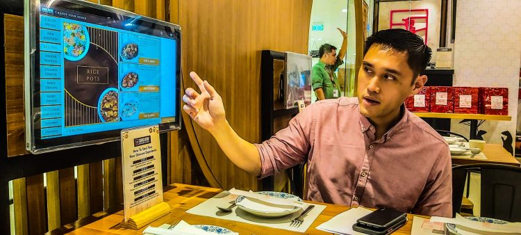 Harbour City Group Marketing Director Steven Kokseng said the digital ordering platform aims to improve the customer experience.